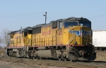 UP 4470 and 9203